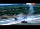 Прямое попадание в танк Т-72 проверка прочности