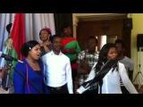 Нигерийский хор в гостях у госпел-хора