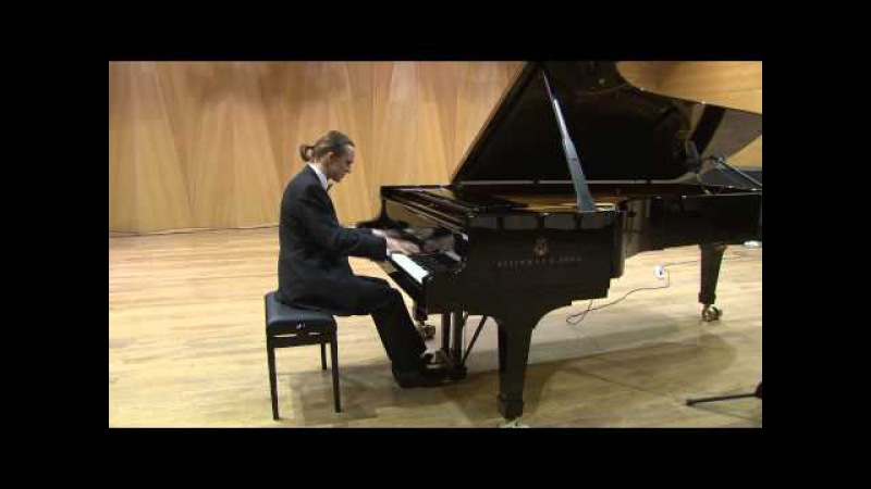 Lubyantsev playing Chopin Scherzo 2, Nocturne in C Minor Op 48, Etudes Op 10-4, Op 25-10