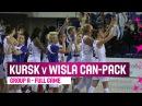 Dynamo Kursk (RUS) v Wisla Can-Pack (POL) – Full Game- RS – 2014-15 EuroLeague Women