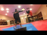 ANDY LE 武館 - BOARDBREAKING - MARTIAL ARTS TRICKING