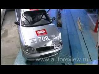краш тест crash test Chevrolet Lanos шевроле ланос