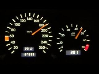 Mercedes-Benz C280 (0 - 190km/h)