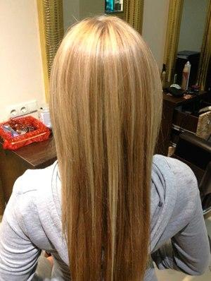 Добрый день на русые волосы сколько