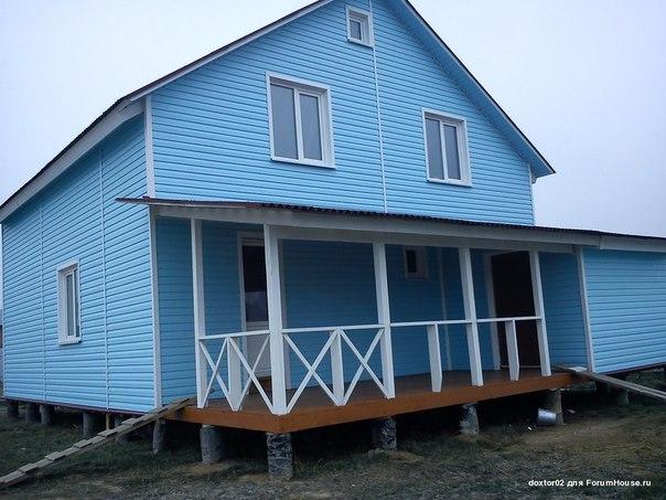 Многие участники FORUMHOUSE строят дома для постоянного проживания по каркасной технологии