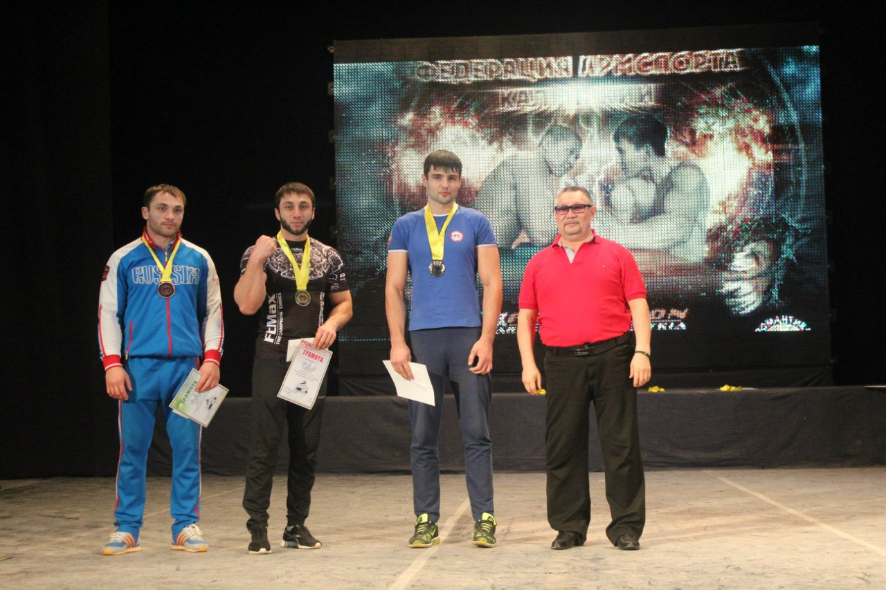 Spartak Zoloev, Khadzhimurat Zoloev - Friendship Cup Kalmykia 2014  │ Photo Source: ARMWRESTLING in Kalmykia