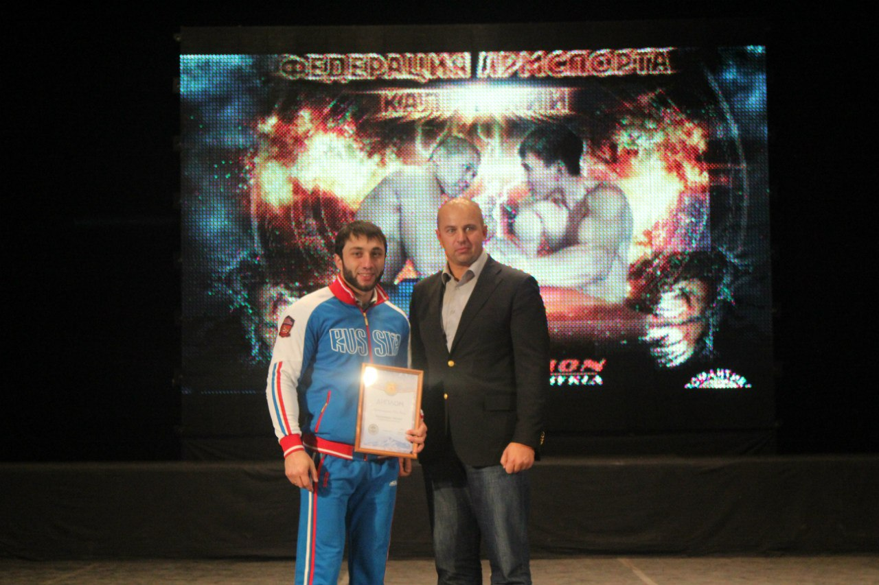 Khadzhimurat Zoloev - Friendship Cup Kalmykia 2014 │ Photo Source: ARMWRESTLING in Kalmykia