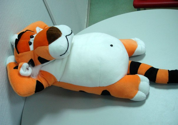 Своими руками игрушка тигр