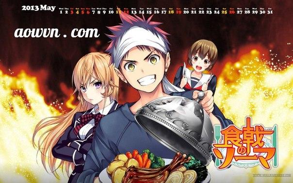 Vua Bếp Soma | Manga Vietsub