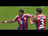 David Alaba Fantastic Free Kick Goal | Bayern Munich vs Braunschweig 1-0