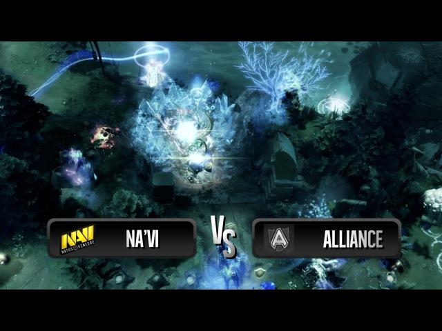 Amazing combo by Na'Vi vs Alliance @ SLTV 8