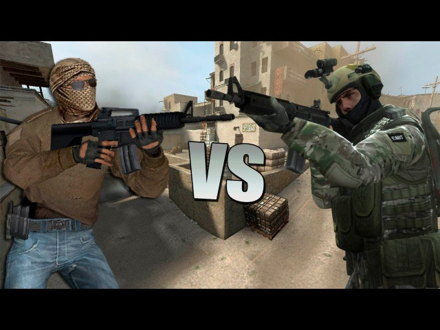 Террористы vs Спецназа.Эпичная Рэп Битва!