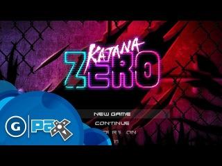 Katana Zero Samurai Time Bending Gameplay Demo - The MIX at PAX Prime 2015
