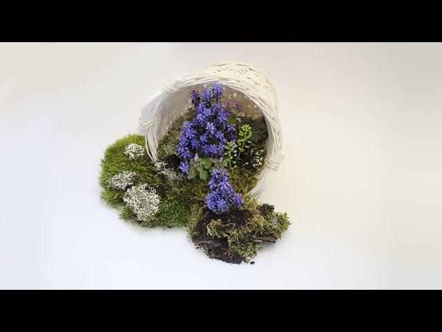 Флористика Композиция своими руками весна (Mастер класс) Floral composition. Flower