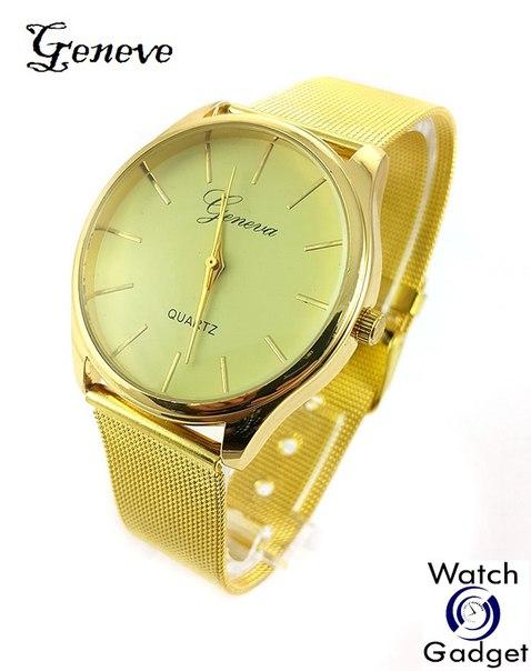 Женские часы золотого цвета купить недорого
