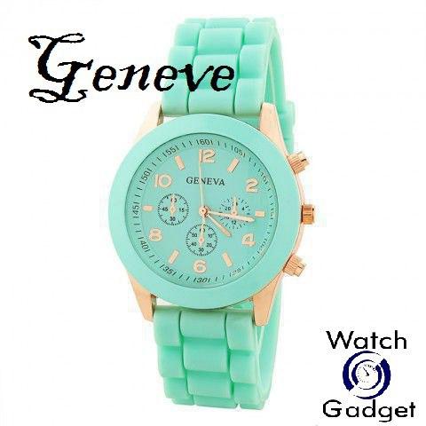 Часы женские Geneva мятные купить недорого