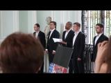 Русская народная песня в исполнении интернационального мужского хора
