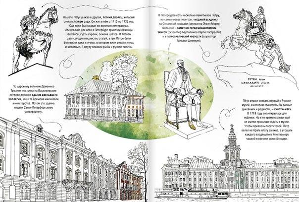 Раскраска о санкт-петербурге