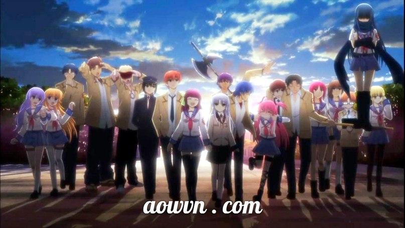 bH5QvV94ey8 - [ Anime 3gp ] Angel Beats ! + OVA Giai điệu thiên thần | Vietsub