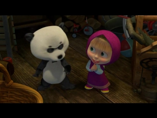 Клуб любителей кошек !Маша и Медведь / Серия 51, Неуловимые мстители (2015)