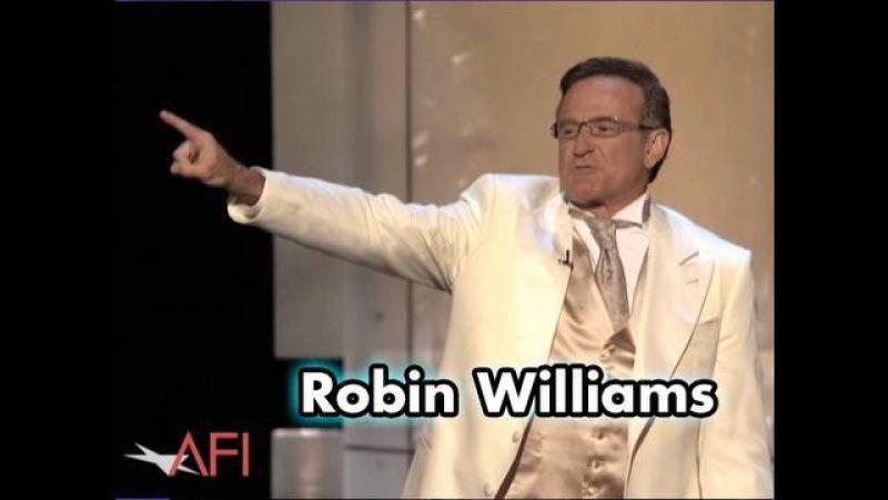 Robin Williams Kicks Off the AFI Life Achievement Award For Al Pacino