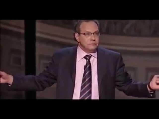 Льюис Блэк об эволюции и евреях (рус. звук)