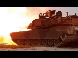 Танки M1A2 Abrams в Германии / Боевые стрельбы на полигоне