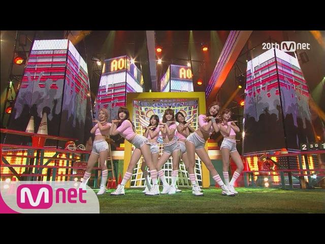 AOA - Heart Attack M COUNTDOWN 150625 COMEBACK Stage Ep.430