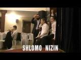 Shlomo Nizin performs on Bar Mitzvah
