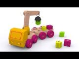 Мультики про машинки для детей. Грузовик-эвакуатор и геометрические формы. Игрушки для малыша - 6