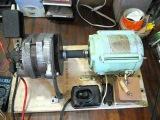 быстрая зарядка эл.двигатель+генератор