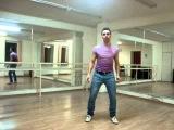 Урок клубного танца для мужчин. Кач + плечи