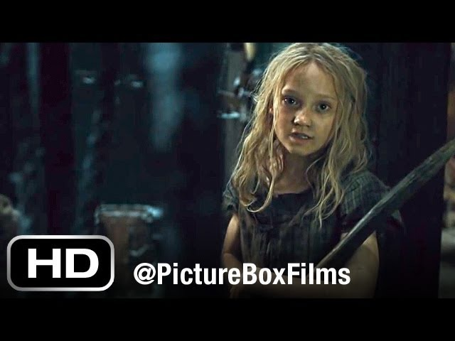 Les Misérables - There is a Castle on a cloud (Helena Bonham Carter) OFFICIAL HD VIDEO
