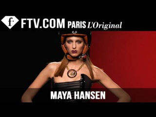 Maya Hansen F/W 2015-16 Runway Show | Madrid Fashion Week | FashionTV