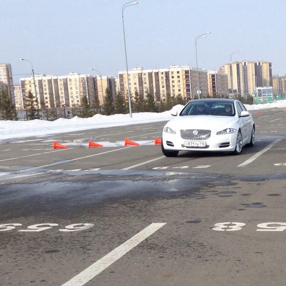 Test-drive Jaguar
