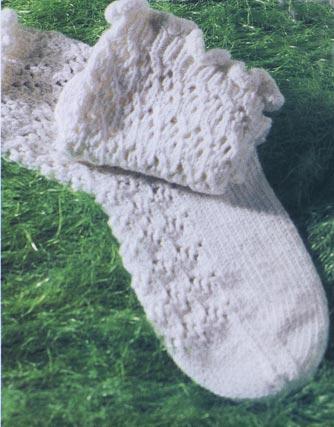 Ажурные носки, вязанные ажурные носки с красивой пяткой… (3 фото) - картинка