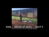 Американский полицейский разнял дерущихся школьников при помощи электрошокера