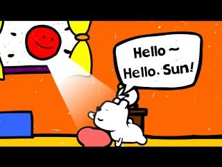 Didis day 1 - Hello, Good bye - Cartoon for kids - Genikids