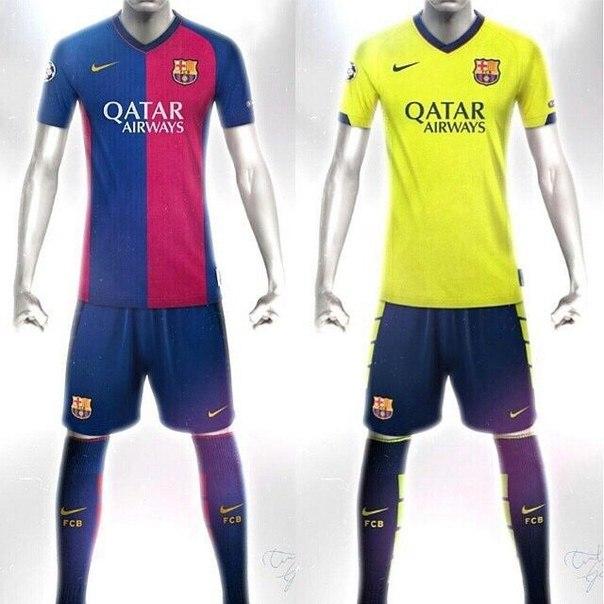 Keyingi mavsumda Barcelonaning formasi shunday bo'lishi mumkin.