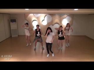 TOP 10 best k-pop dance (Girls)