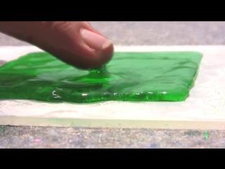 Супер-водоотталкивающая поверхность / Superhydrophobic coating