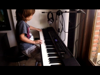 Ale OZ (5 years) Scorpions Wind Of Change Piano Cover