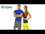 День 1 программы сжигания жира. Интенсивное интервальное кардио + нижняя часть тела. 50 минутDay 1: Fitness Blenders 5 Day Workout Challenge to Burn Fat & Build Lean Muscle