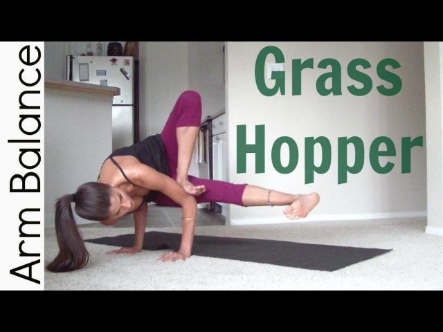 How to Grasshopper pose | Arm Balance