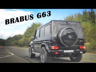 Mercedes-Benz G63 AMG с выхлопной системой Brabus,с возможностью регилировки открытия клапанов на выхлопе
