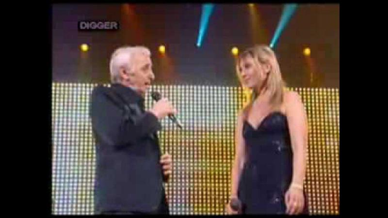 Charles Katia Aznavour Je Voyage lyrics included