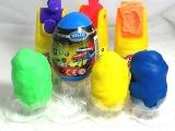 4 Surprise eggs Play-Doh. Детский пластилин Play-doh, наборы play doh  キンダーサプライズビデオ