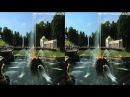 (3D) Fountain architecture nature of Petergof (Peterhof, Petrodvorets, Versailles) part1