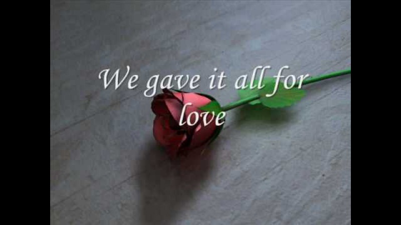 Michael Bolton - All for Love (edited by me)