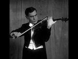 Niccolo Paganini. La Campanella. Leonid Kogan, violin